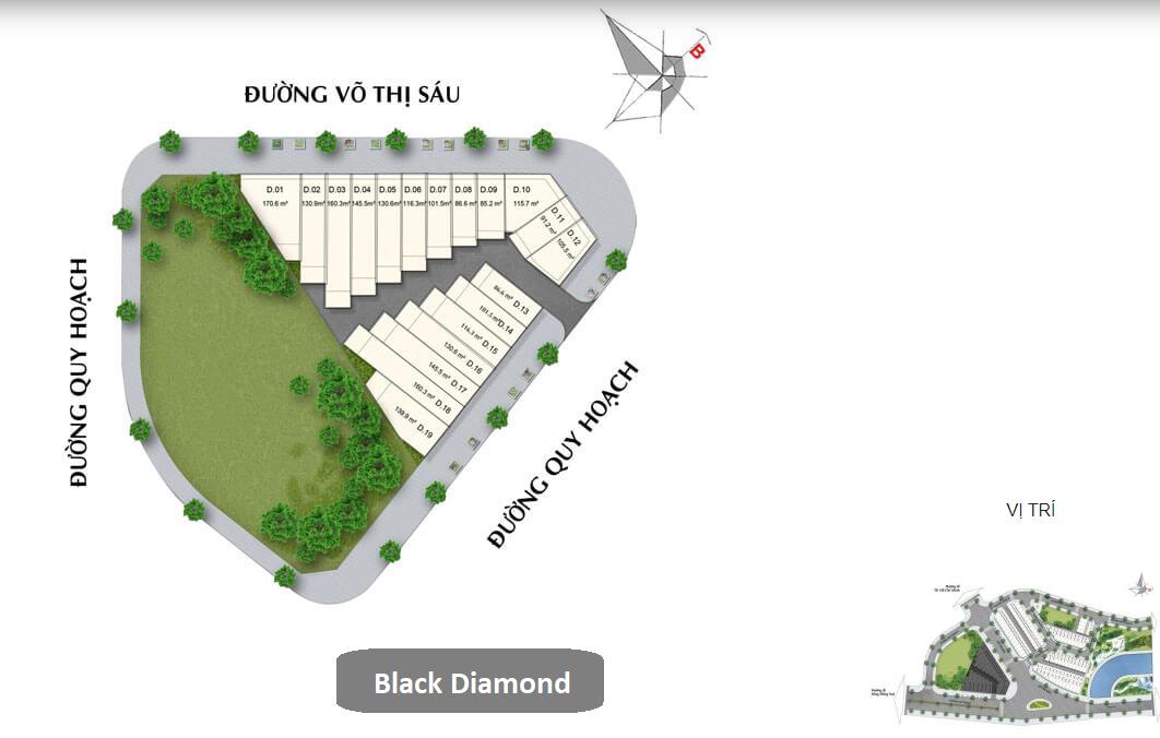 Diamond Central Biên Hòa - Nhà Phố Black Diamond